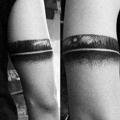 Armband Dotwork Guys Forest Tattoos