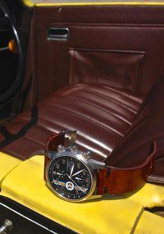 Cascais motor show. Chronograph Modern Le Mans from Maurice de Mauriac.