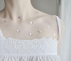 silver stars...