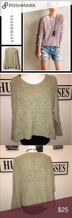 Anthropologie Moth Viedma Pullover EUC, No flaws - size medium - super cozy! Anthropologie Sweaters