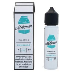 Churrios by The Milkman is a creamy cinnamon dessert flavored Ejuice. Try it today here at West Coast Vape Supply!