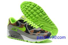 best website 4c35d 7f095 coupon for basket nike sportswear air max 90 premium tape c mo femme fluo  volt brun