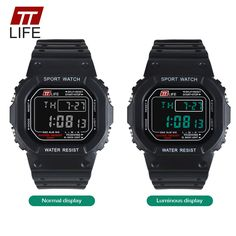 17 best couple watches images on pinterest bracelet watch clock ttlife brand watch men g style square waterproof sports digital military watches shock resistant relogio masculino for running fandeluxe Gallery