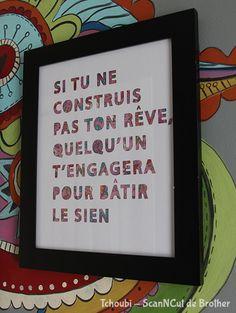 Framed quote/Citation encadrée - Created by/Créée par @Tchoubi. Pour en apprendre plus sur les fonctionnalités et les multiples possibilités de la ScanNCut, visitez www.brother.ca/fr-ScanNCut.