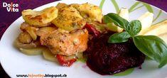 Dolce Vita: Mníchovské zapekané kuracie prsia s jablkami a zemiakmi
