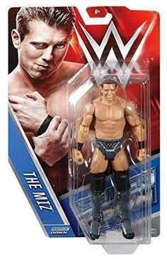 THE MIZ WWE Mattel Basic Series 62 Action Figure Toy - Brand New - http://bestsellerlist.co.uk/the-miz-wwe-mattel-basic-series-62-action-figure-toy-brand-new/