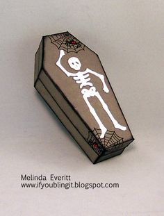 If You Bling It Coffin box cut with Cricut Artiste