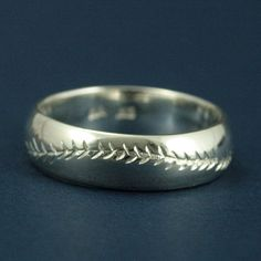 America's Pastime  6mm by 2mmSterling Silver by RevolutionBA, $75.00