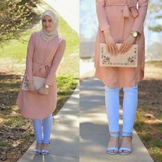 Trendy hijab outfit styles 2016