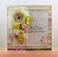 Pauline's Card Cupboard: Wedding wishes # 1
