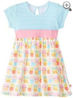 Zutano Baby-Girls Infant Wonder Cat Banded Waist Dress
