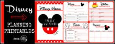 9 Best Images of Printable Disney World Planner - Disney Vacation Planner Printable, Disney World Planning Printables and Disney World Planning Printables Free Disney Planning Binder, Disney Planner, Disney Vacation Planning, Disney World Planning, Trip Planning, Vacation Planner, Vacation Ideas, Disney Tips, Disney Fun