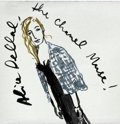 Alice Dellal CHANEL / TLBJ MILAN   http://www.danielecosta.net/