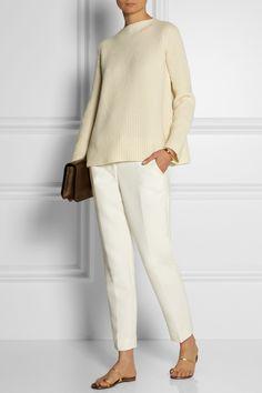 The Row|Isemenia wool and cashmere-blend sweater|NET-A-PORTER.COM