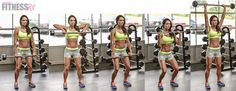 Upright Row To Clean & Press: Blast your shoulders with this finisher. I would go straight from the row to the clean and press. No need to drop the bar back down. Fitness Motivation, Fitness Facts, Fitness Tips, Weight Training, Weight Lifting, Weight Loss, Preparation Physique, Clean And Press, Bar Workout