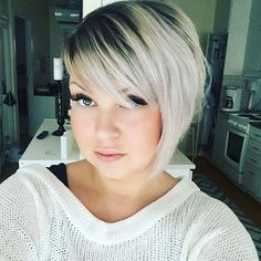 She starts with an further short asymmetrical bob haircut, revved up and brought…