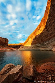 ~~The Tapestry of a New Day ~ Moki Canyon, Lake Powell, Arizona by James Neeley~~