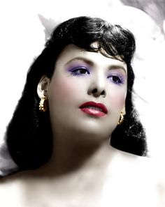 Lena Horne (Color by Brenda J Mills) Timeless Beauty, Classic Beauty, Hollywood Glamour, Classic Hollywood, Vintage Black Glamour, Vintage Glam, Black Actors, Black Celebrities, Pearl Bailey