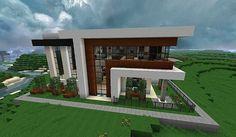 Casa moderna minecraft Más