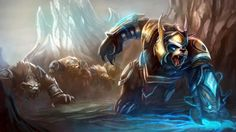 Thunder Lord Volibear Skin League of Legends champion wallpaper. Find more HD LoL desktop backgrounds in our wallpapers gallery. Lol League Of Legends, League Of Legends Video, Champions League Of Legends, Lol Champions, League Of Legends Personajes, Fantasy Online, What Is Amazing, Awesome, Fantasy League