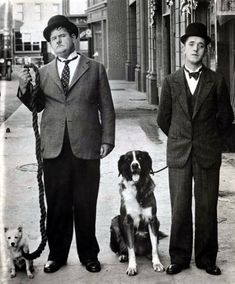 Laurel and Hardy I was three and couldn't understand why none of my friend knew of them! No wonder I'm in Hollywood lol