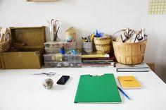 Erin Considine's studio, photo Jennifer Causey via The Makers Project