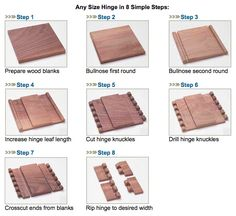 wooden hinges - Google Search
