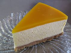 Mau!kas ruokablogi: Mango-juustokakku Sweet Pastries, Yams, Vanilla Cake, Cooking Recipes, Cheese, Baking, Desserts, Food, Sweets