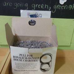Recycled beverage tabs