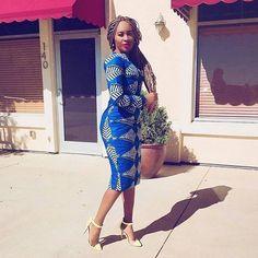 Ankara Styles by Mawuli: Photo Best African Dresses, African Fashion Dresses, African Outfits, African Wear, African Style, African Beauty, Different Wedding Dress Styles, Ankara Short Gown Styles, Short Dresses