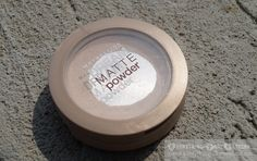 """Maybelline Dream Matte Powder """"Light"""" Swatch And Review Base Makeup, Matte Powder, Eyeshadow Base, Cc Cream, Concealer, Maybelline, Swatch"""