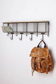 Anthropologie - Wire Wall Cubby