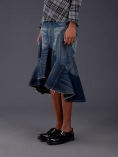 Junya Watanabe Junya Watanabe Five Pocket Jean in Blue - Lyst