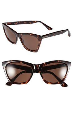 Free shipping and returns on Isaac Mizrahi New York 55mm Cat Eye Sunglasses at Nordstrom.com. An alluring cat-eye silhouette brings old-world glamour to indispensable full-coverage sunglasses.