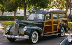 1941 Packard 120 Deluxe 1901 Station Wagon - Grove Green M… | Flickr