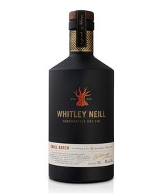 Whitley Neill Gin is an award winning, premium gin produced in small batches in an antique copper still.