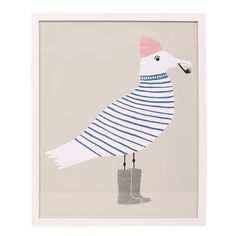"""""""Sammy Seagull"""" by Wayne Pate from Serena & Lily Bazzar"""