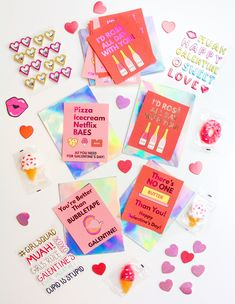 Free Printable & DIY Foiled Galentine's Day Cards! ⋆ Brite and Bubbly