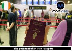 The Potential of an #IrishPassport | MoreVisas  https://www.blog.morevisas.com/the-potential-of-an-irish- passport/
