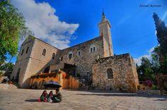 كنيسة عين كارم عين كارم، لقدس، فلسطين  Ain Karem Church Ain Karem, Jerusalem, Palestine  Iglesia de Ein Carem Ein Carem, Jerusalen, Palestina