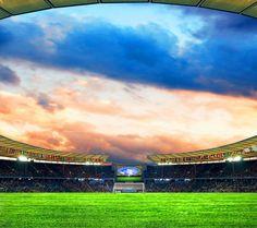nice Soccer stadium Androidスマホ壁紙