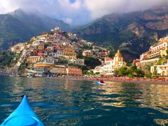 Positano - Amalfi Coast.....I stood right there in the midst of that orange on the beach..... summer 2014-