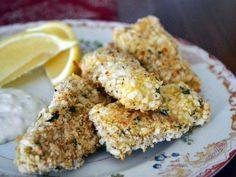 How to make homemade fish sticks - an easy and fun way to enjoy healthy fresh or frozen fish sticks at home. Cod Fillet Recipes, Fish Recipes, Seafood Recipes, Easy Baked Scallops Recipe, Baked Haddock Recipes, Fish Sticks, Scallop Recipes, Fish And Seafood, Food Network Recipes