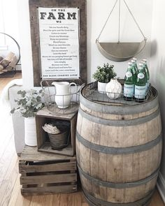 35 Genius Ways People Are Repurposing Whiskey & Wine Barrels - How to Use Barrels As Decor
