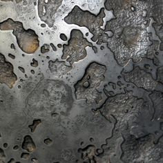 Our decorative metal coatings and custom metal finishes are the future of surface, offering unique patterns, textures and patinas for varied applications. Axolotl, Textured Walls, Textured Background, Texture Metal, Art Grunge, Concrete Coatings, Small Sculptures, Metal Projects, Custom Metal