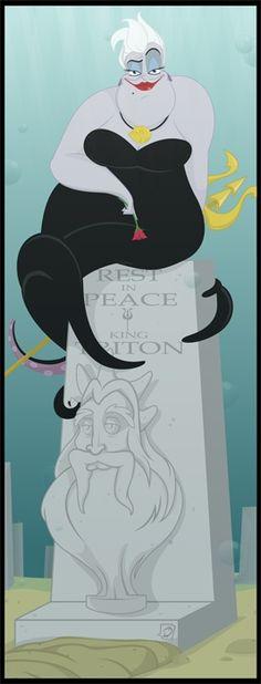 Disney Villain's Week only at Beauty O'holic - Ursula's Beauty Secrets - Alternative Ending