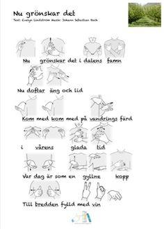 sommar-arkiv - Tecken som stöd - Toppbloggare på Womsa Sign Language, Education, Communication, Musik, Onderwijs, Learning, Sign Language Art