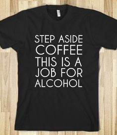 STEP ASIDE COFFE BLACK