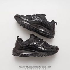 watch a97a3 1ff2f Nike Air Max 98 Supreme Limited Edition Total Air Increased Platform Shoes  Men s Sports Trainers Shoes Perfect Work Impeccable