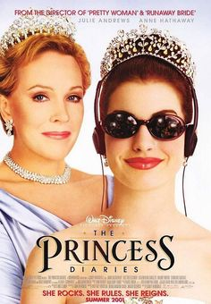 big fan of Anne Hathaway...even bigger fan of Julie Andrews and she still looks great! Glad Gary Marshall had her sing in the sequel.